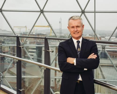 BCC congratulates President Francis Martin on CBE