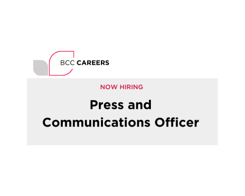 Could you work in our press office?
