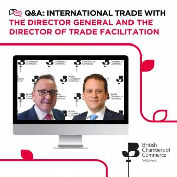 Q&A with the Director General and the Director of Trade Facilitation​
