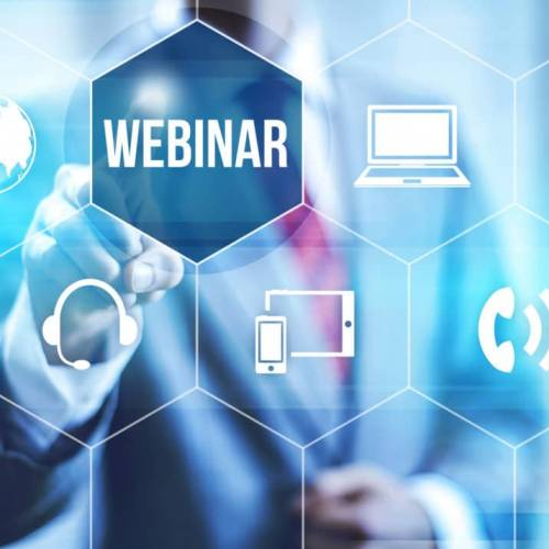 Interactive webinars to support business community