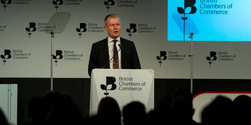 Francis Martin opens the BCC Annual Conference 2018