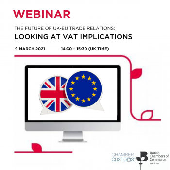 The Future of the UK/EU Trade Relations:  Looking at VAT implications