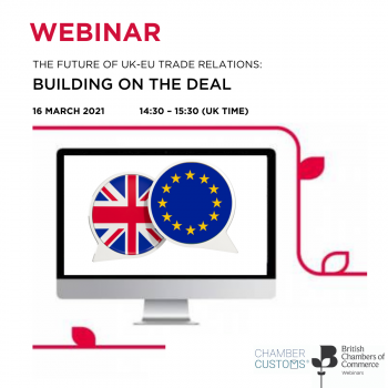 The Future of the UK/EU Trade Relations: Building on the deal