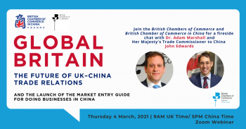 Global Britain – The future of UK–China Trade Relations