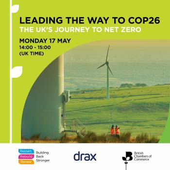 Leading the way to COP26 – The UK's journey to Net Zero