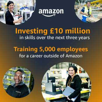 Amazon's Career Choice programme