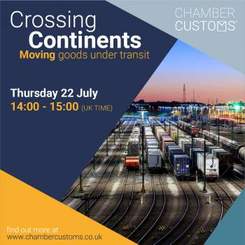 Crossing Continents - Moving goods under Transit