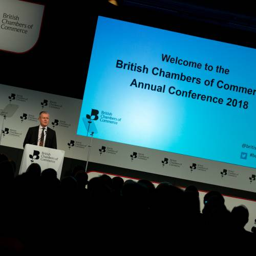 BCC President Francis Martin addresses Annual Conference